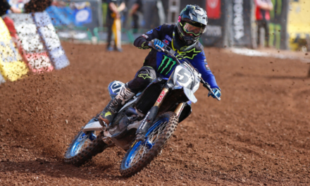 Monster Energy Yamaha Factory Racing Team Takes Pair of Top 10s