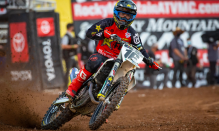 ROCKSTAR ENERGY HUSQVARNA FACTORY RACING TEAM CAPTURES TOP-FIVE FINISHES AT SX ROUND 15