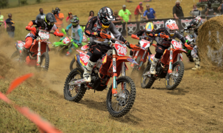 High Voltage GNCC: Motorcycle Race Report – Russell Earns 67th Career XC1 Victory