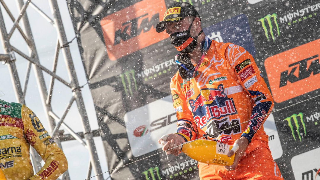 HERLINGS TRIUMPHS AT KEGUMS GRAND PRIX AND FINAL MXGP LATVIAN EVENT