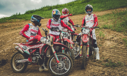 COLDENHOFF, MONTICELLI & LANGENFELDER READY TO GET ON THE GAS IN LATVIA