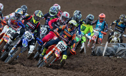 RED PLATES AND HIGH GOALS: 2020 MXGP LAUNCHES AGAIN WITH LATVIAN TRIPLE