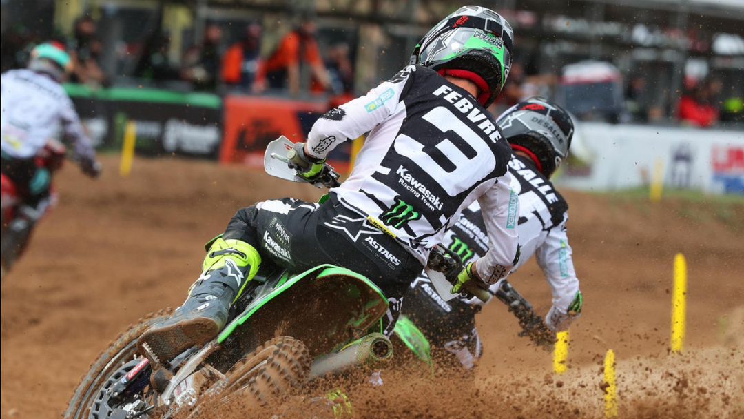 ROMAIN FEBVRE TAKES A SECOND IN LATVIA