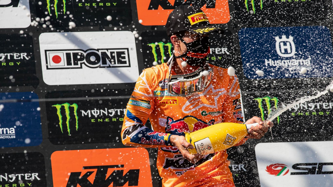 VIALLE TAKES MX2 WIN AT LATVIAN GRAND PRIX AS 2020 MXGP RESTARTS IN STYLE