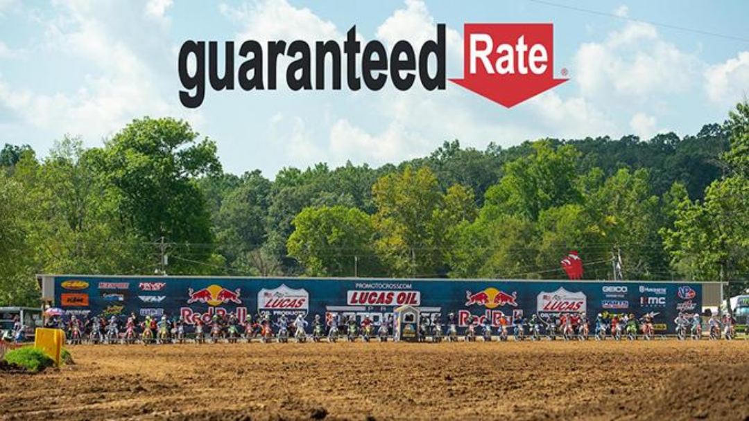 Guaranteed Rate Becomes Official Mortgage Lender of Lucas Oil Pro Motocross Championship