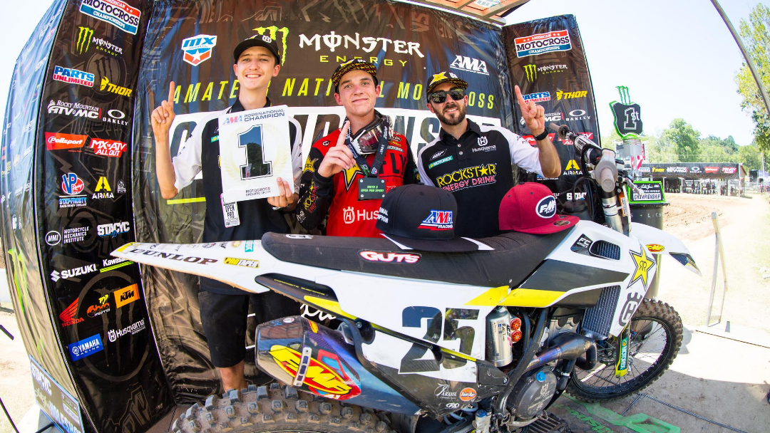 HUSQVARNA MOTORCYCLES CONGRATULATES STILEZ ROBERTSON ON ACHIEVING THE HIGHEST HONOR AT THE 2020 AMA AMATEUR NATIONAL MOTOCROSS CHAMPIONSHIP