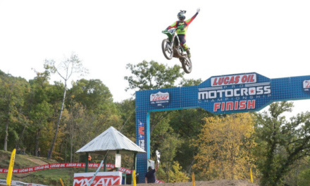 Monster Energy® Kawasaki Rider Adam Cianciarulo Seizes the Overall Victory at Spring Creek
