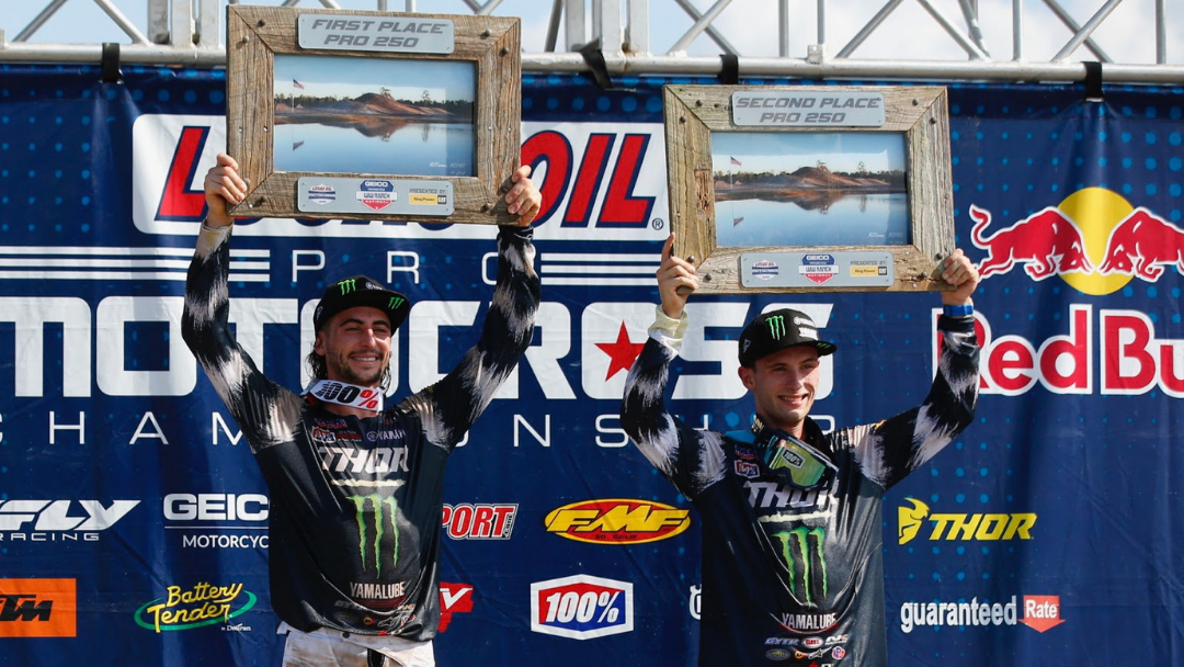 Ferrandis, Cooper Bring the Heat with a 1-2 Finish in Florida
