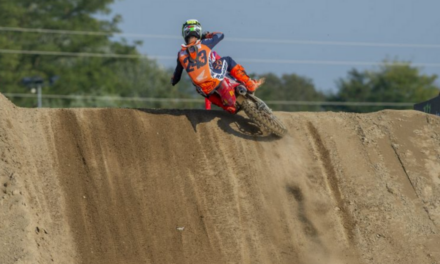 Red plate stays with Gajser after another podium performance