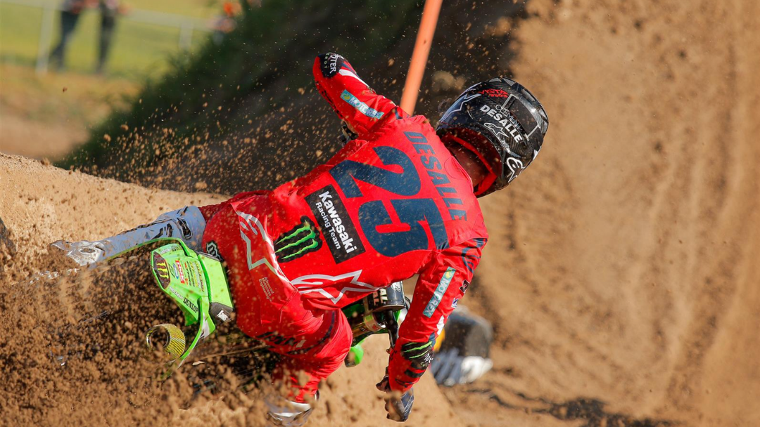 CLEMENT DESALLE FIFTH AT MANTOVA
