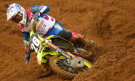 STRONG RESULTS FOR SUZUKI IN DOUBLE-HEADER AMA MX