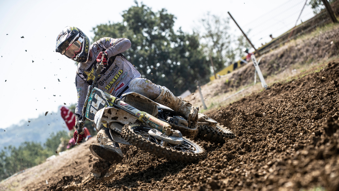 JED BEATON RETURNS TO MX2 PODIUM WITH THIRD OVERALL AT MXGP OF EMILIA ROMAGNA