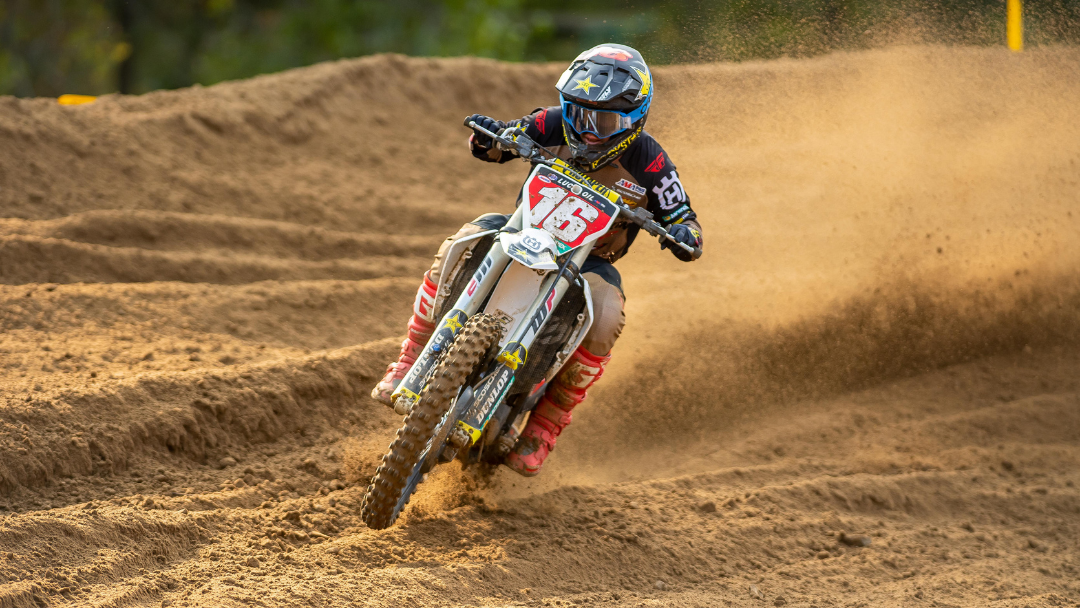 ROCKSTAR ENERGY HUSQVARNA FACTORY RACING'S OSBORNE SALVAGES VALUABLE POINTS TO REMAIN ON TOP IN 450MX CHAMPIONSHIP STANDINGS