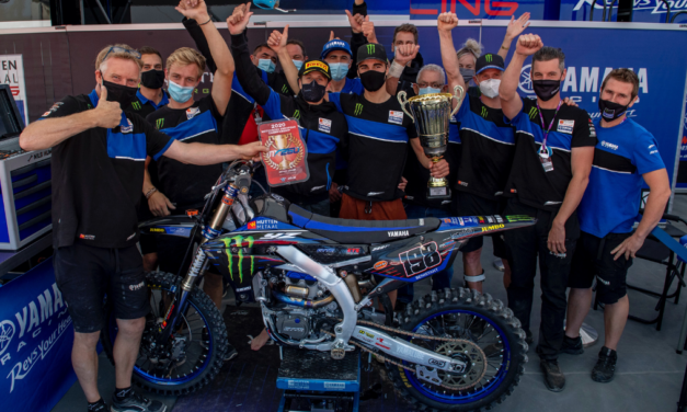 Yamaha Sweep the EMX250 Podium as Benistant Extends his Championship Lead