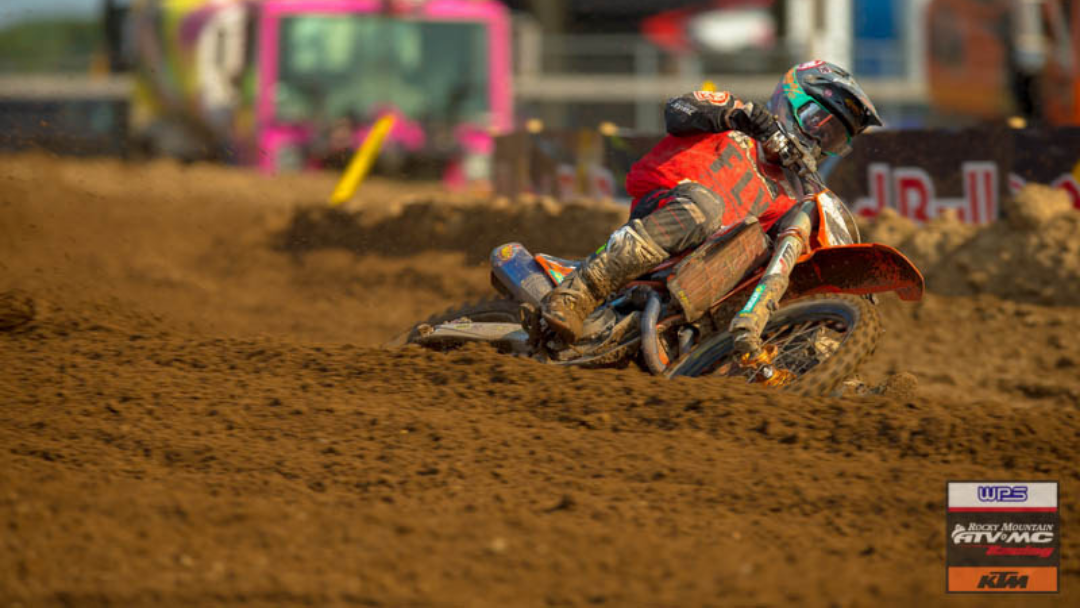 Baggett tops weekend with moto win; Earns 2nd overall at Redbud MX double header | Team Rocky Mountain ATV/MC-KTM-WPS Race Report