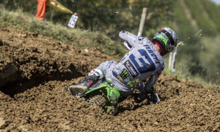 ROMAIN FEBVRE SETS THE FASTEST LAP IN ITALY