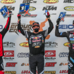 Trystan Hart Takes Round Three EnduroCross Win   Colton Haaker and Cody Webb round out the podium