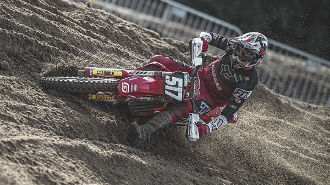 FOURTH OVERALL FOR ISAK GIFTING AT MXGP ROUND 14