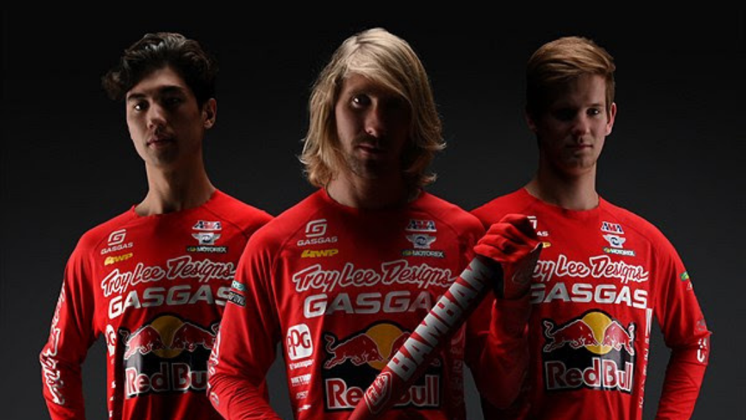TROY LEE DESIGNS/RED BULL/GASGAS FACTORY RACING TEAM ANNOUNCES ITS THREE-RIDER ROSTER FOR 2021 AMA SUPERCROSS AND PRO MOTOCROSS CHAMPIONSHIPS
