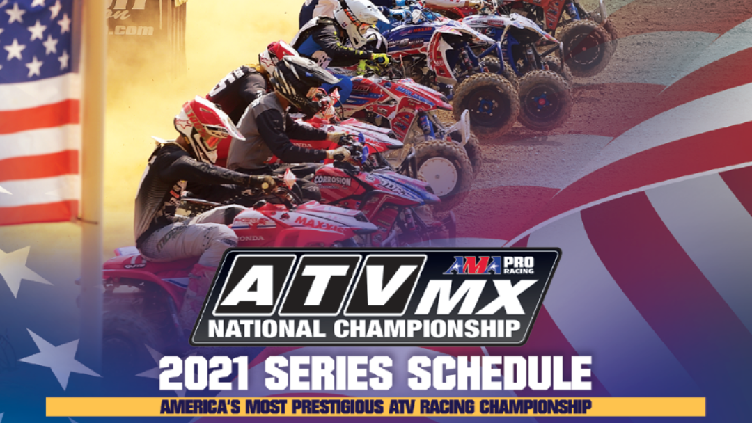 2021 ATV Motocross National Championship Series Schedule Announcement – 10-Round Professional and 9-Round Amateur Circuit
