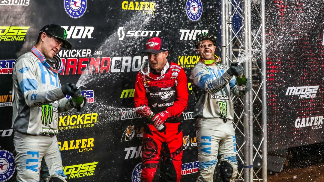 Kicker Arenacross – Rounds 5 and 6 Recap from Guthrie, Oklahoma