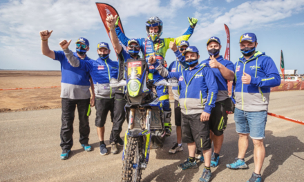 A HISTORIC 6TH PLACE FOR SHERCO IN THE 2021 DAKAR!