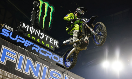Monster Energy Star Yamaha Racing's 450 Team Score Pair of Top 10 Finishes at Indianapolis 1