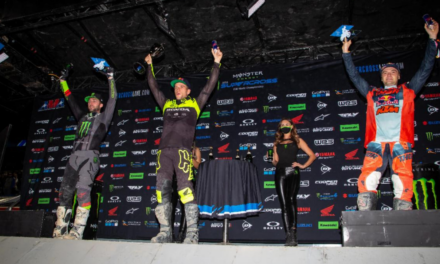 Ken Roczen Grabs First 2021 450SX Class Win and Stretches Points Lead – Colt Nichols Repeats 250SX Class Win and Takes Over Title Standings