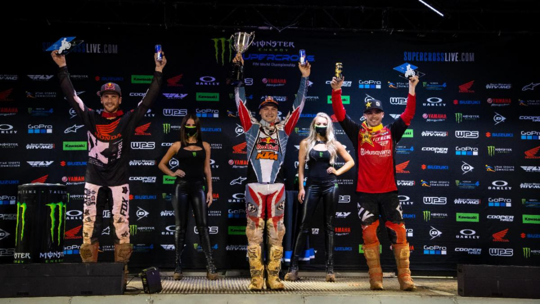 Cooper Webb Storms Orlando Supercross and Reclaims 450SX Class Momentum – Jett Lawrence Grabs Second 250SX Class Win