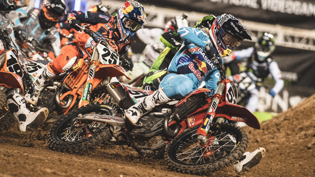 JUSTIN BARCIA ON THE GAS WITH A PODIUM FINISH IN ORLANDO
