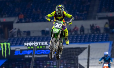 Monster Energy®/Pro Circuit/Kawasaki Rider Jo Shimoda Earns Career-Best Second Place Finish in Indianapolis