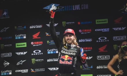 TROY LEE DESIGNS/RED BULL/GASGAS FACTORY RACING DOUBLES UP ON PODIUM FINISHES IN INDY
