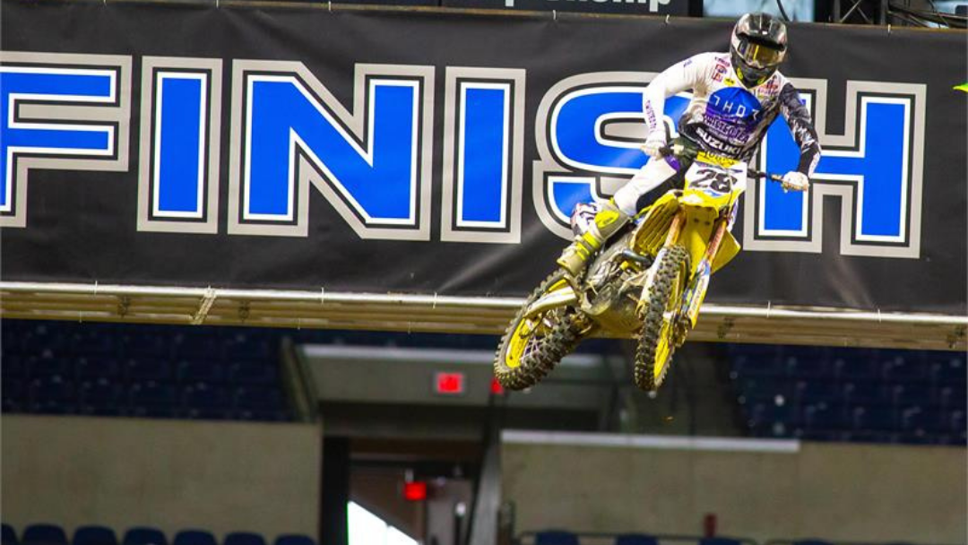 HARTRANFT MATCHES SEASON BEST RESULT AT INDY SX