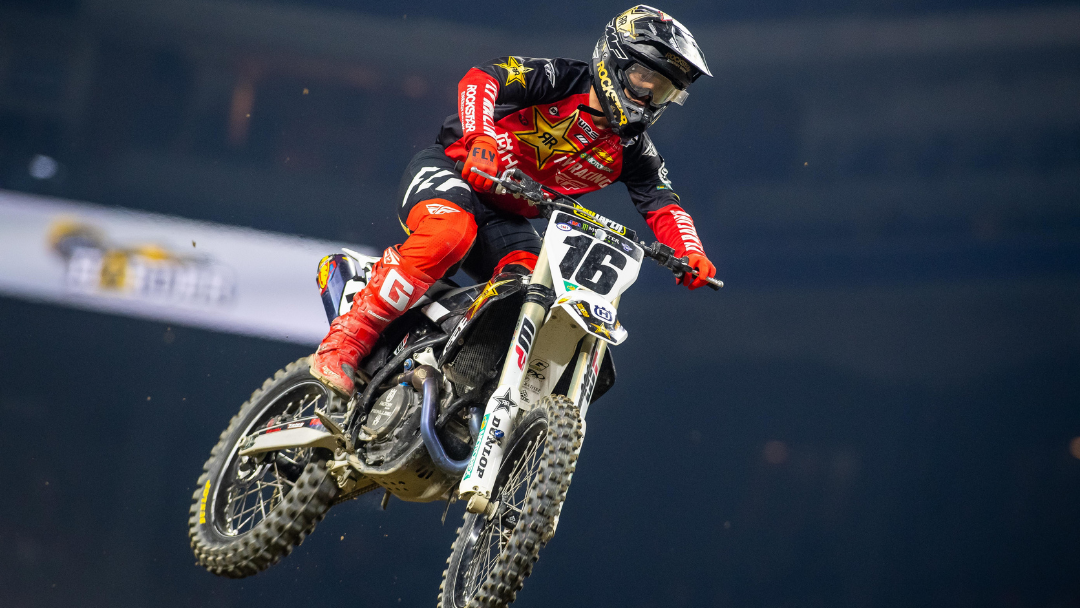 OSBORNE RALLIES TO EARN A HARD-FOUGHT TOP 5 FINISH AT INDY SX