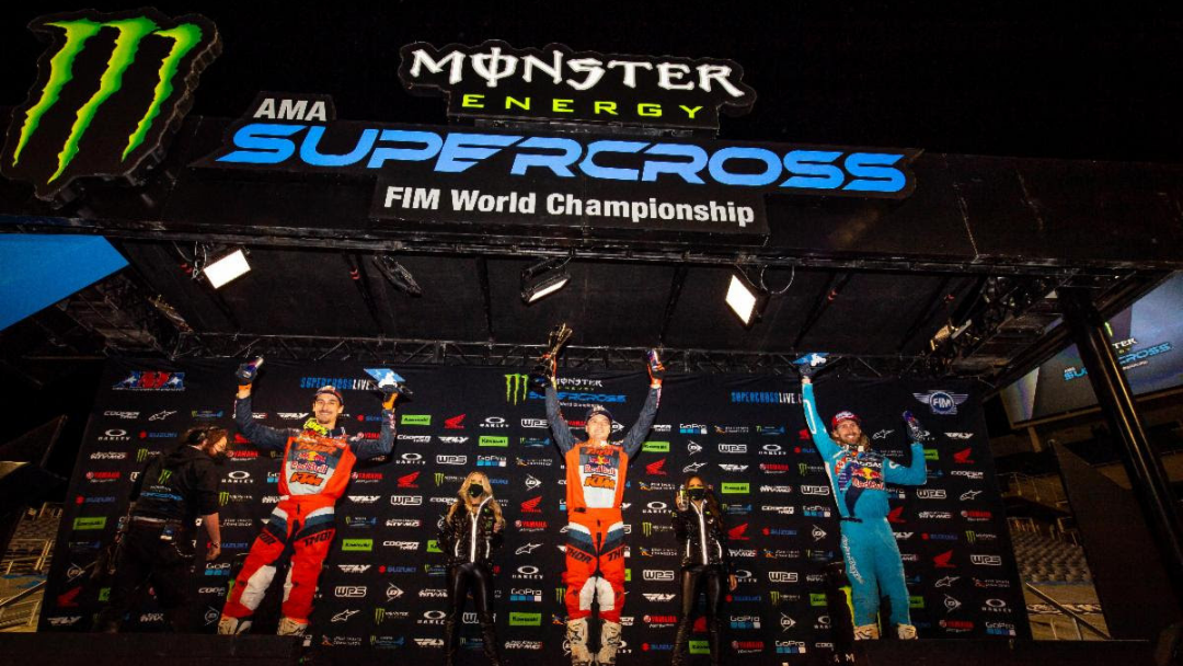 Cooper Webb Dominates Orlando and Tightens 450SX Title Chase – Justin Cooper Repeats 250SX West Opening Round Win