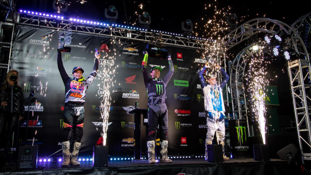Tomac Tops Daytona for Fifth 450SX Class Win at Venue and Second of Season – Cameron McAdoo Grabs First-Ever 250SX Class Victory