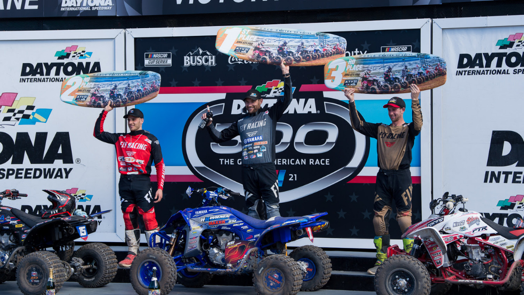 Chad Wienen Earns Fifth ATV Supercross Win InsideHistoric Daytona International Speedway – Nick Gennusa and Westley Wolfe Round Out Top Three Overall