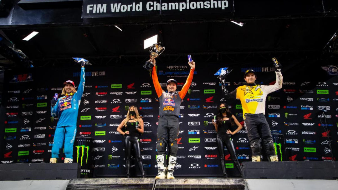 Cooper Webb Tops Field and Title Points With Arlington Supercross Victory – Rookie Seth Hammaker Shines With First 250SX Class Win