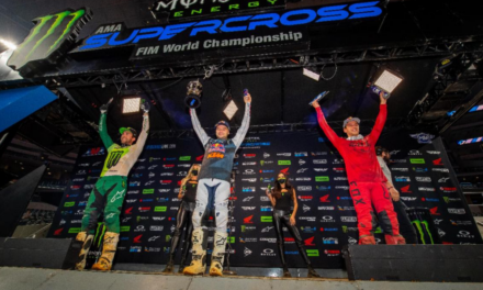 Webb Captures Another 450SX Class Win in Texas – Hunter Lawrence Styles to First 250SX Class Win