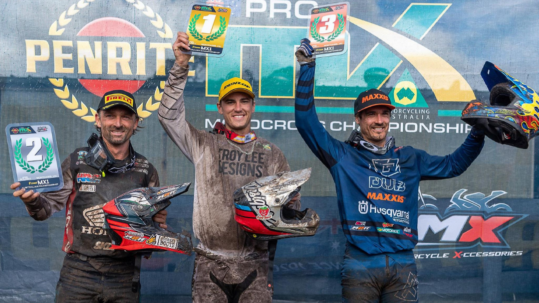 Duffy Claims Maiden THOR MX1 Victory