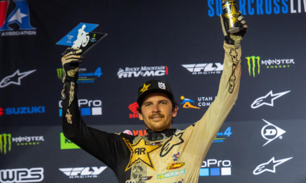 ANDERSON BATTLES FROM THE LCQ TO THE PODIUM AT ATLANTA 2 SX