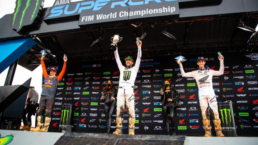 Eli Tomac Wins First-Ever Supercross at Atlanta Motor Speedway – Rookie Nate Thrasher Grabs First Win in 250SX Class