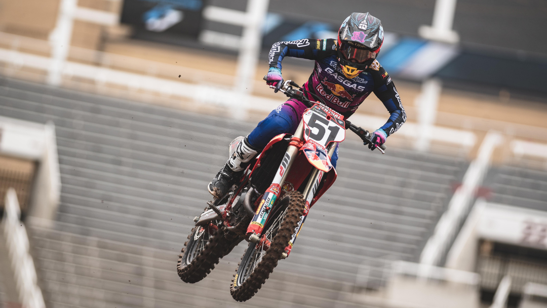 TROY LEE DESIGNS/RED BULL/GASGAS FACTORY RACING CONCLUDES 2021 AMA SX SERIES IN UTAH