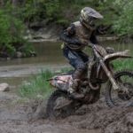 ROCKSTAR ENERGY HUSQVARNA FACTORY RACING'S THAD DUVALL INCHES BACK TO GNCC FORM WITH A GREAT RIDE AT ROUND 6