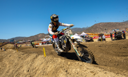 HAMPSHIRE ROUNDS OUT THE TOP FIVE AT PRO MOTOCROSS SEASON OPENER