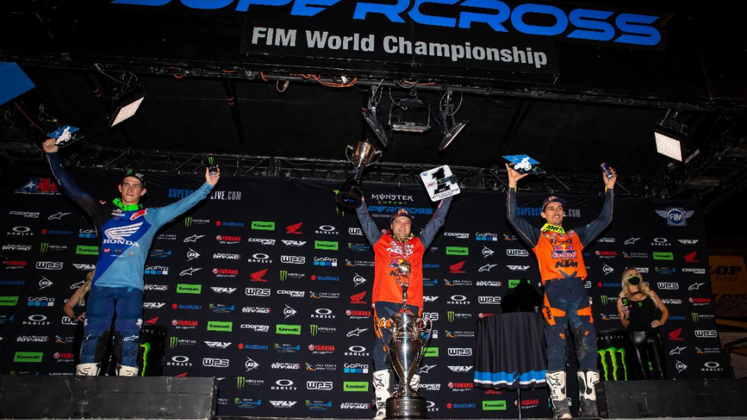 Cooper Webb Wraps Up Second 450SX Class Championship Title with a Victory – Jett Lawrence wins the 250SX Class Battle, Nichols and Cooper Win Their Wars