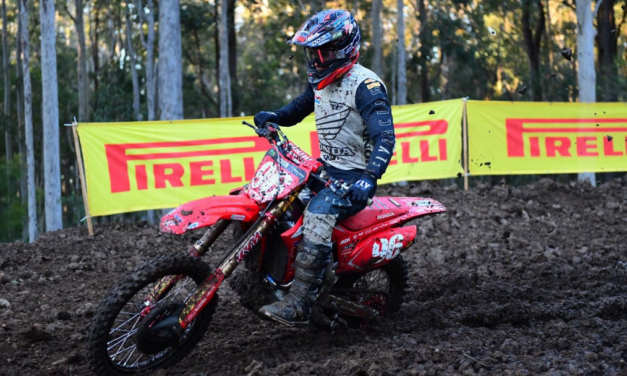 Webster Answers Challenges In Maitland To Win Pirelli MX2