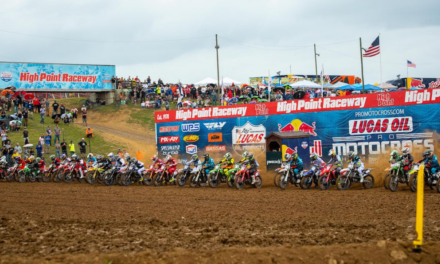 Consistency Puts Ferrandis on Top at High Point National for Second Lucas Oil Pro Motocross Victory – Swoll Breaks Through for First Career Professional Win in 250 Class