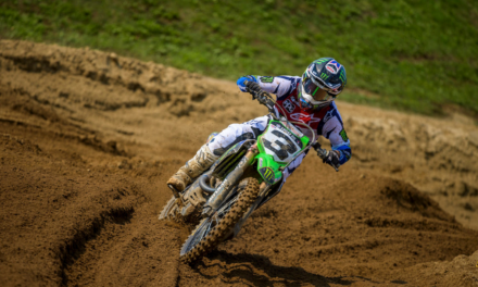 Monster Energy® Kawasaki's Eli Tomac Secures Second Moto Win and Overall Podium Finish at RedBud
