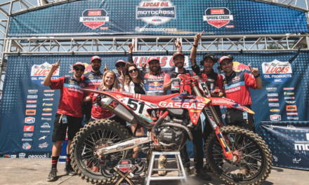 BARCIA BREAKS THROUGH WITH FIRST 450MX OVERALL WIN FOR GASGAS FACTORY RACING